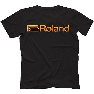 Roland T-Shirt: Amazon.co.uk: Clothing