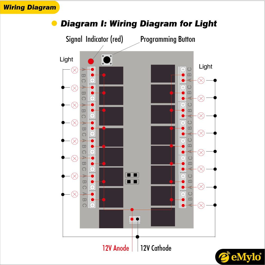emylo® DC 12 V 16 CH Relais Learning: Amazon.de: Elektronik