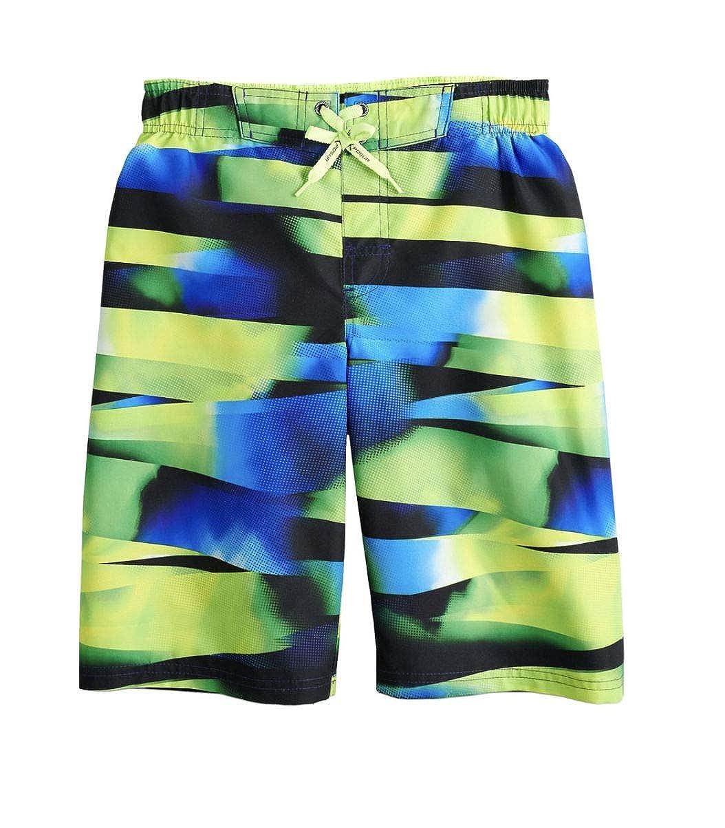 10//12, Algae ZeroXposur Boys Printed Swim Trunks