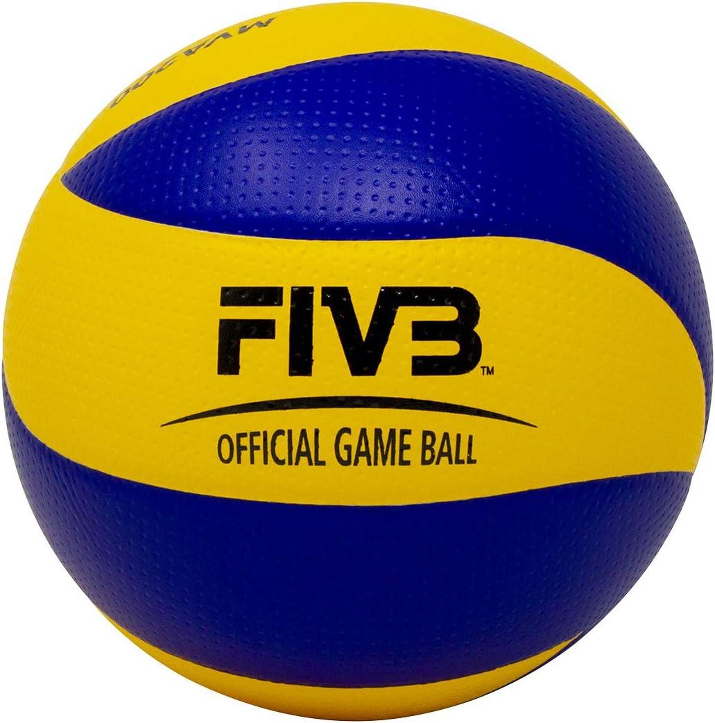Rio London Mikasa MVA200  2008 and 2016 Beijing indoor Olympic Games Ball Blue//Yellow 2012