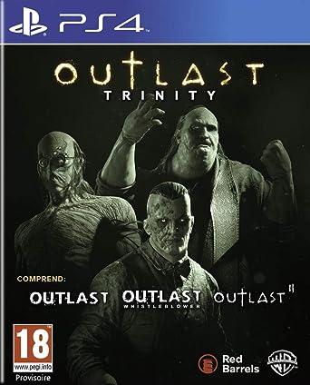 Jeu Playstation 4 Outlast Trinity Ps4 Outlast Ii Outlast
