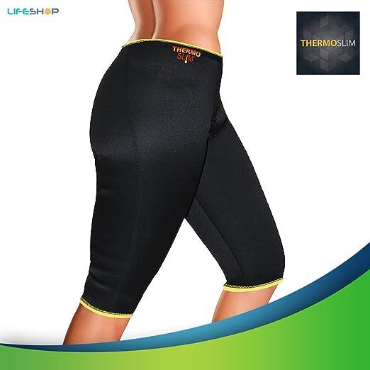 269ef6cea84f1 Amazon.com  Thermo Slim Neoprene Workout Sweat Capri Pants by ...