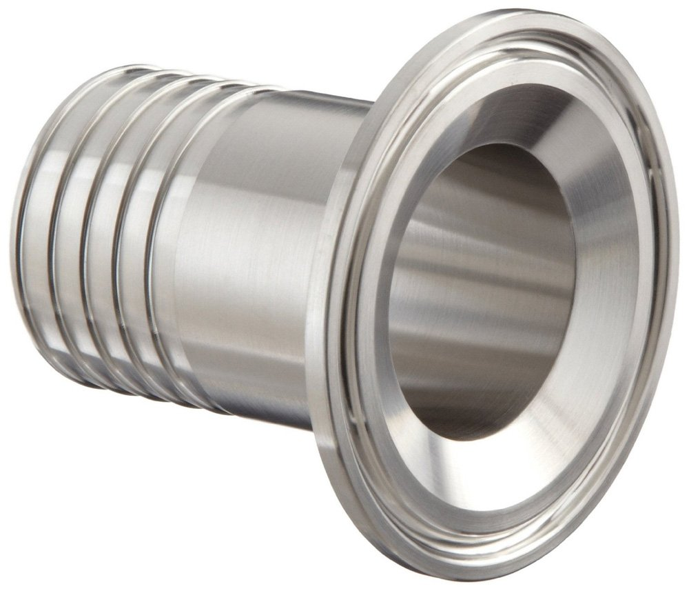 1-1//2 x 1-1//2 x 1.687 OAL 1-1//2 x 1-1//2 x 1.687 OAL Steel and Obrien AAR01500i-304 Stainless Steel 14MPHR Rubber Hose Adapter