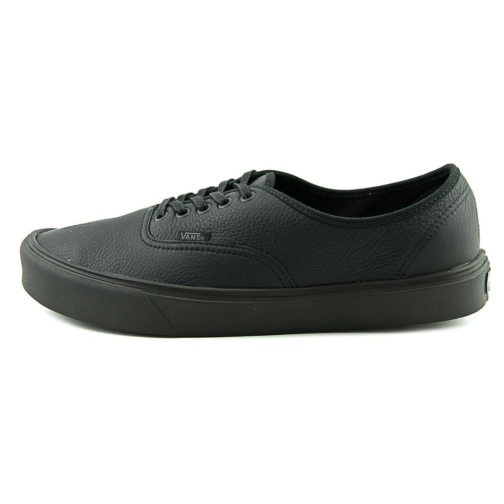 a2ec1a39d3a9d3 Vans Shoes abotinadas Authentic Lite Leather Black Size  9  Amazon.co.uk   Shoes   Bags