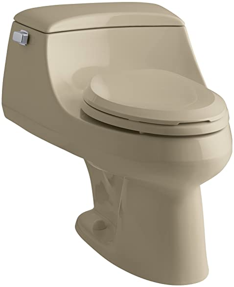 Sensational Kohler K 3466 33 San Raphael One Piece Elongated Toilet Andrewgaddart Wooden Chair Designs For Living Room Andrewgaddartcom