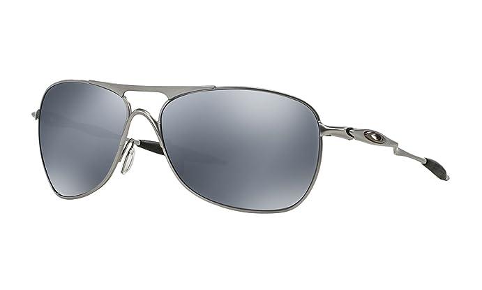 Oakley Crosshair Sonnenbrille Lead/Black Iridium Polarized PDCER9