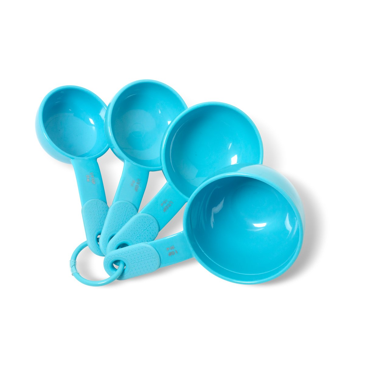 Amazon.com: KitchenAid Classic Plastic Measuring Cups, Turquoise ...
