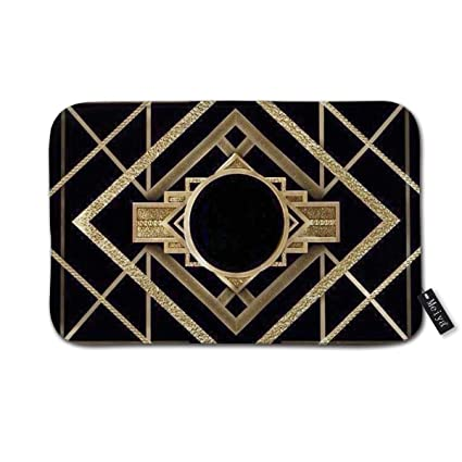 Amazon Com Art Deco Vintage Era The Great Gatsby Gold Black