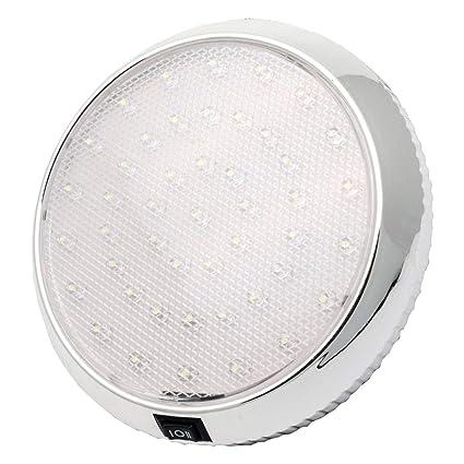 MASO 46LEDs Lámpara de Techo Interior de Techo con Interruptor de ...