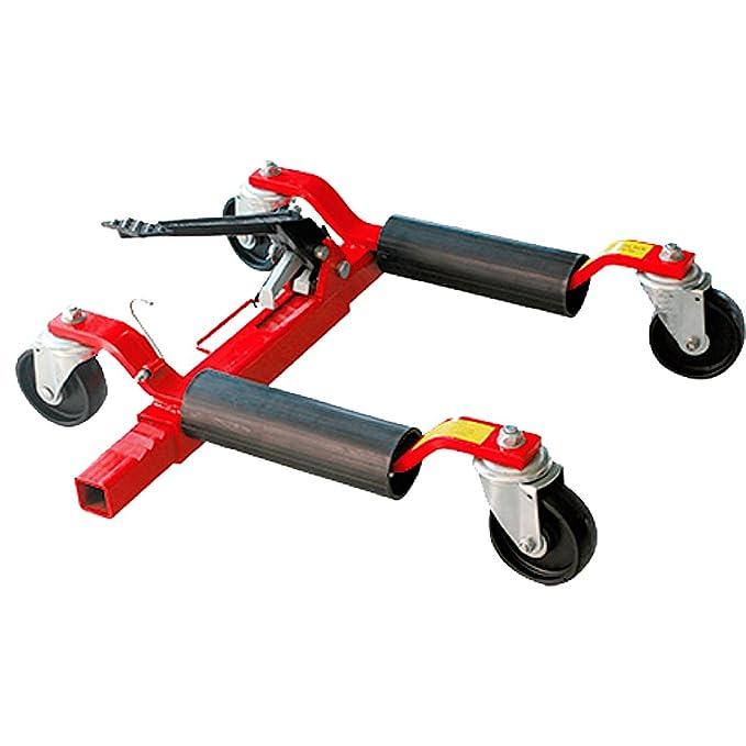 Posicionador de coches mecánico hasta 570 KG para mover coches SIN ARRANCAR (p. ej. sin motor o embrague) - Taller de coches, garajes u hoteles: Amazon.es: ...