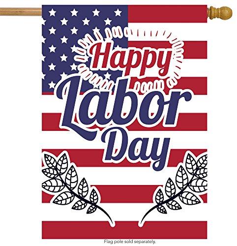 ShineSnow USA American flag Labor Day House Flag 28