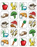 Teacher Created Resources Food Pyramid Stickers, Multi Color (1381)