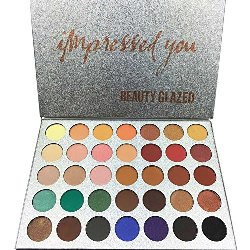 Shimmer Eyeshadow Palette RedDhong Tone Eye Multicolor Shado