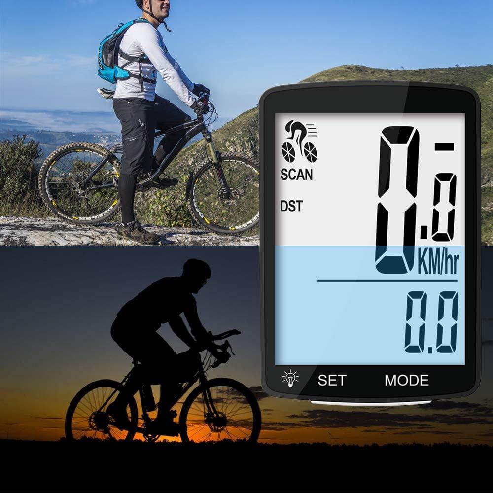 speedometer odometer for Merida giant Schwinn Huffy,random color,3.5cm x3.5cm Meanhoo Digital Waterproof wire//wireless Bike Cycle Computer for Bicycle Camping