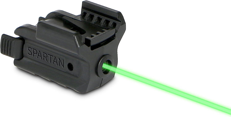 LaserMax Spartan Adjustable Rail Mounted Laser (Green) SPS-G
