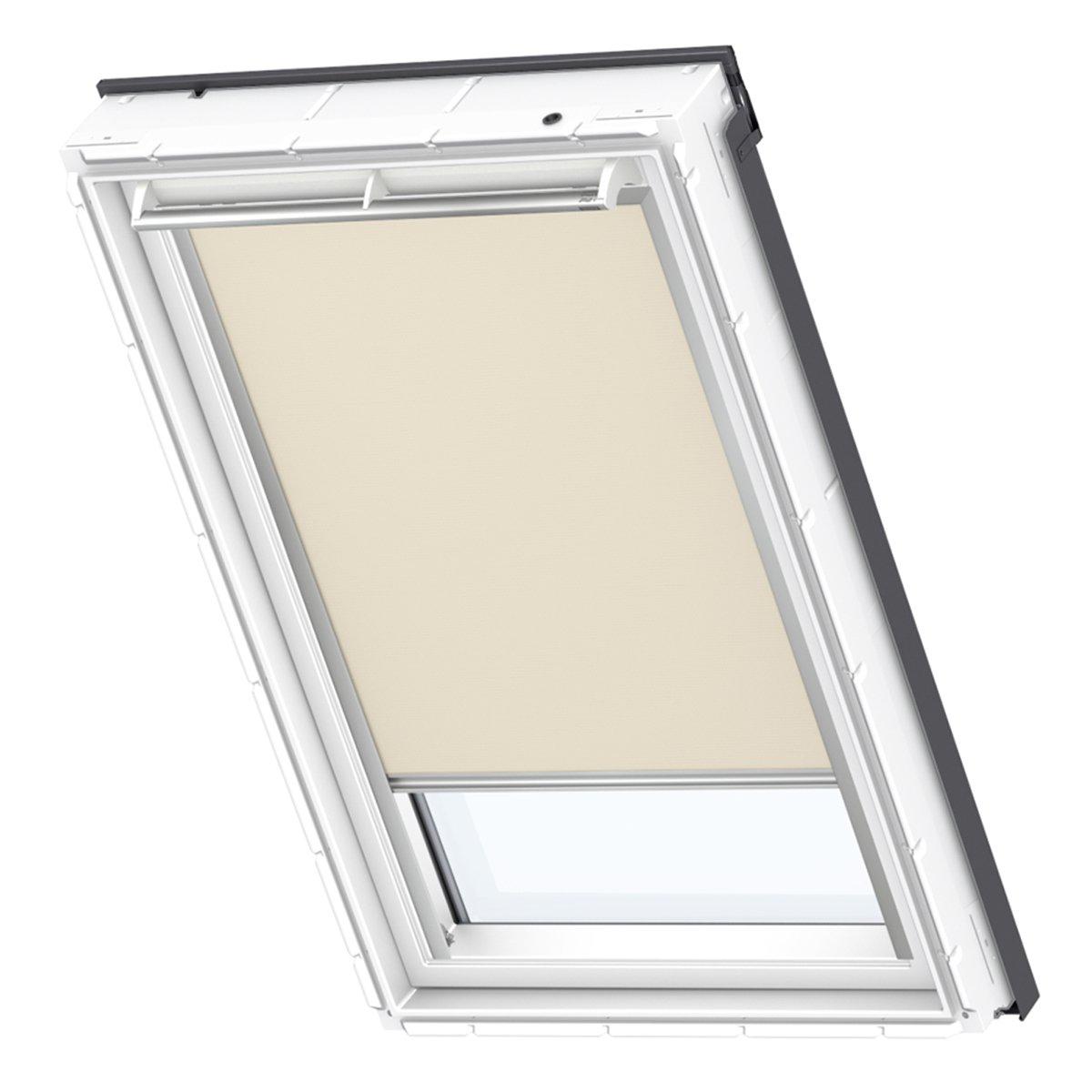 VELUX Original Hitzeschutz-Markise außen Dachfenster, M08, Uni Beige