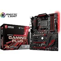 MSI X470 Gaming Pro AC Placa Base, carbón, X470 Gaming Plus