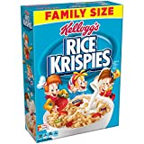 Rice Krispies Kellogg's Breakfast Cereal, Original, Fat-Free, Family Size, 24 oz Box
