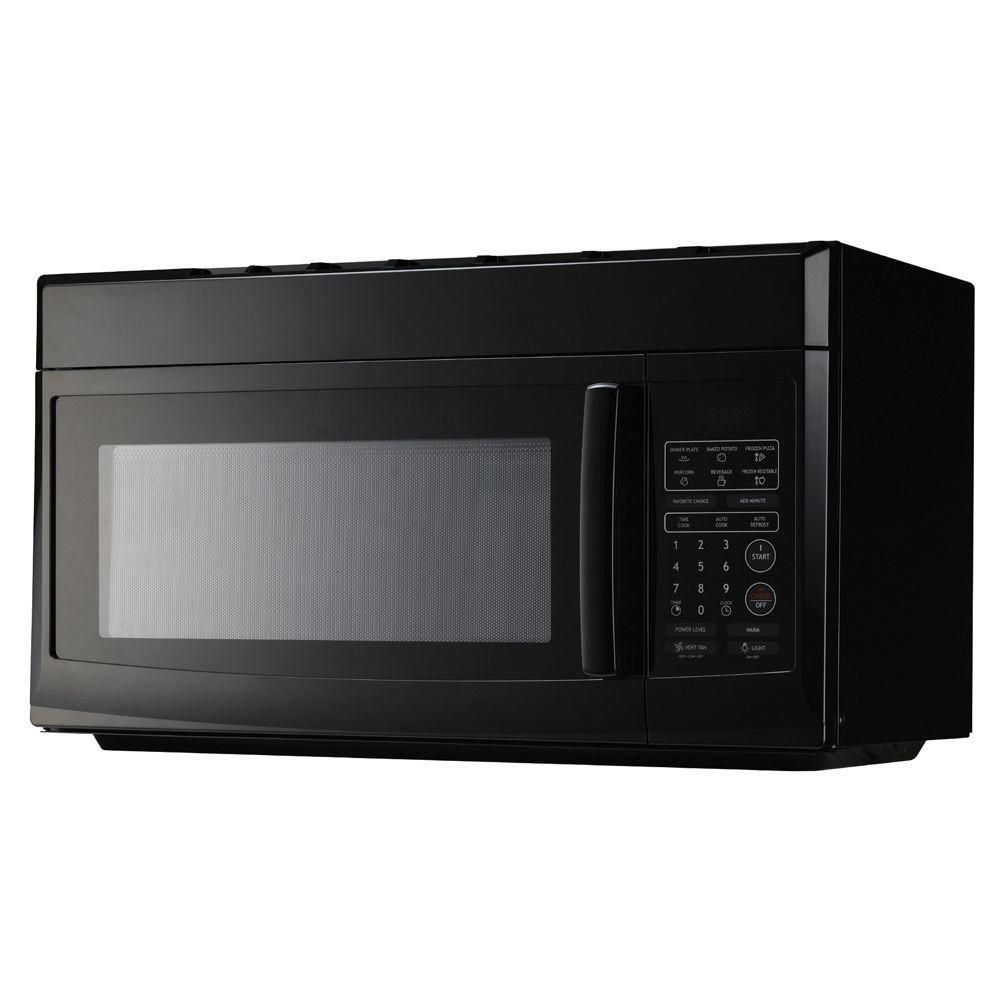 Daewoo Magic Chef 1.6 cu. ft. Over the Range Microwave in Black-MCO165UB DAEWOO ELECTRONICS