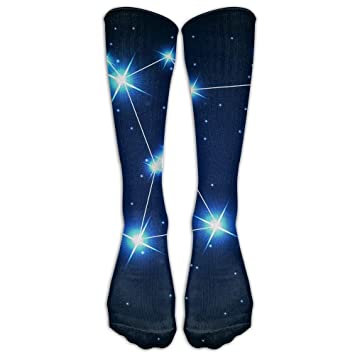 Not afraid Orion Stars Sky Unisex 3D Printed Long Length Socks 50CM: Amazon.es: Deportes y aire libre