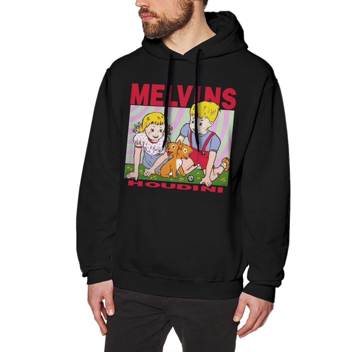 NAGEYI Men's Melvins-Houdini Design Hoodies Pullover Adult Sweatshirt
