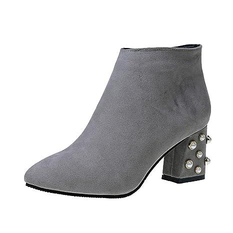 Ellie Shoes - Merceditas para mujer Negro negro 40 P7p9ZN