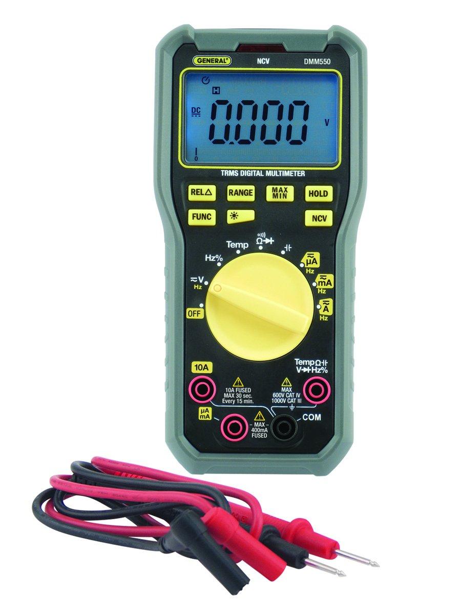 General Tools DMM550 CAT 111 1000-volt Multimeter