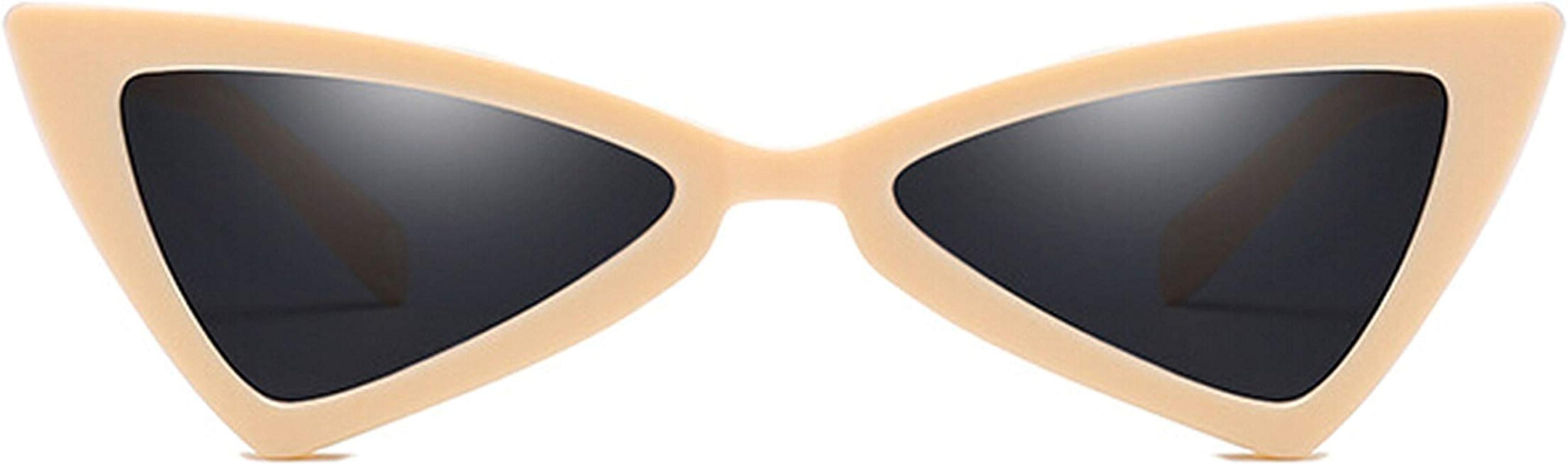 ANAZOZ Gafas de Sol Lente Beige Gafas de Sol de Mujer UV400 ...