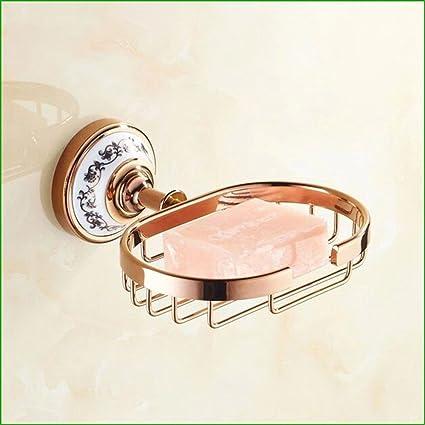 Saponetta E Carta Igienica.Il Rame In Oro Rosa Asciugamani Porta Carta Igienica