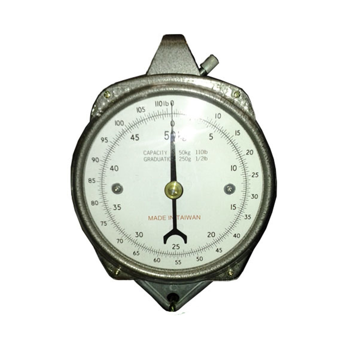 50-Pound Zenport Accuzen AZDH50 Hanging Mechanical Dial Scale