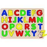 Goki GK601 - Puzzle para encajar, diseño de abecedario