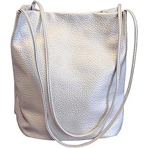 989a4f0c575f0b Eimer Tasche Damen Handtasche Leder Schultertasche Umhängetaschen Beutel