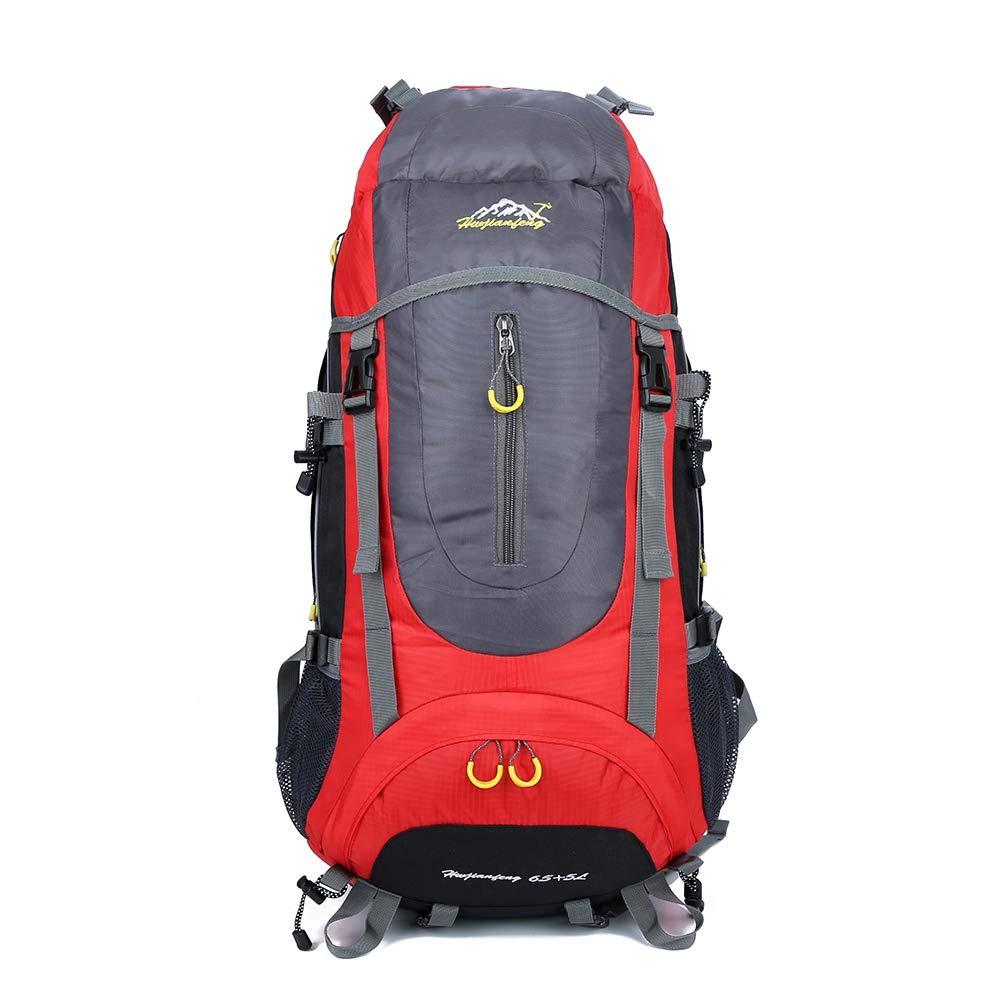 BIUBIU ハイキングバックパック 防水 アウトドア 軽量 旅行用バックパック 大容量 ハイキングバッグ ナイロンバックパック 登山用バッグ   B07HVQYN98