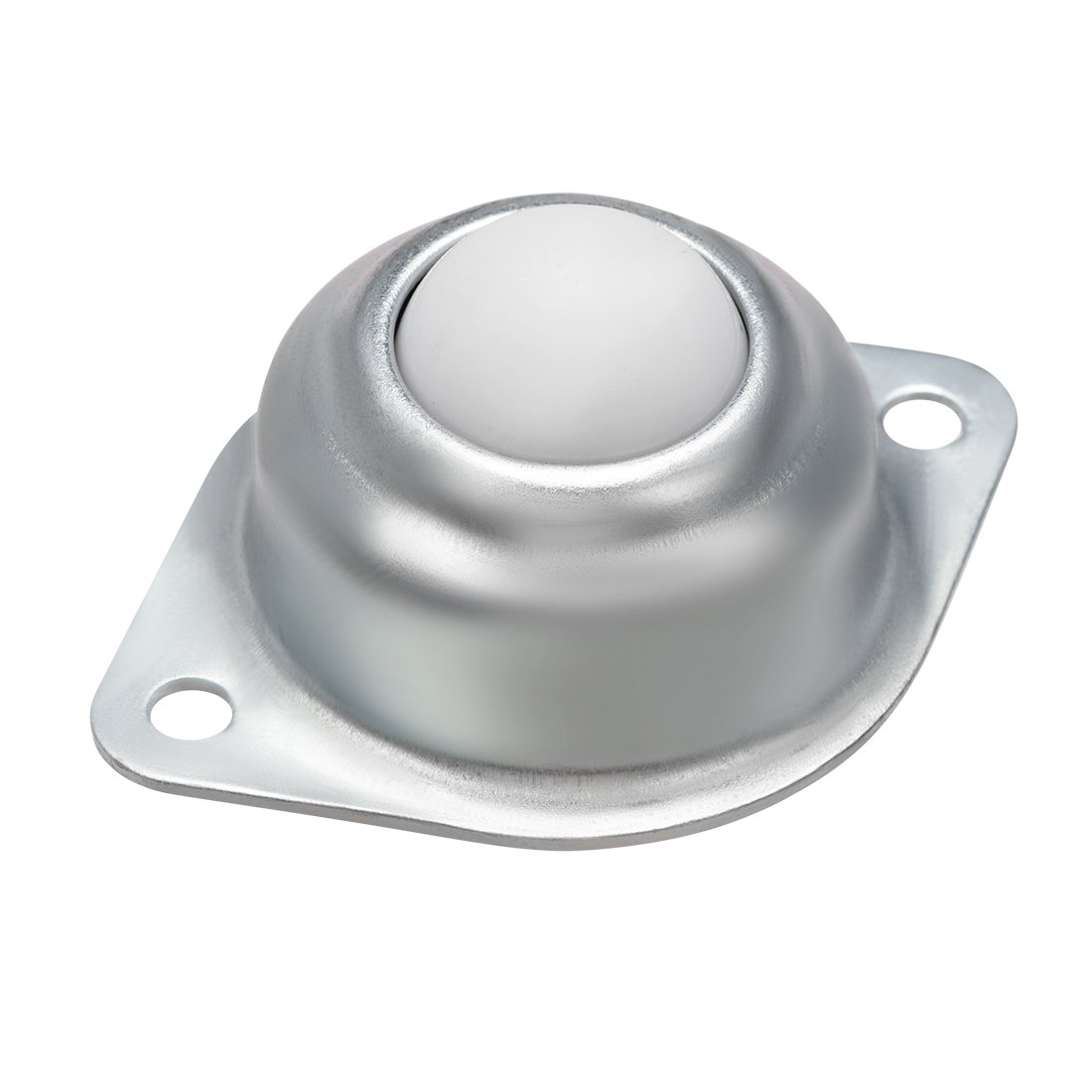 uxcell Ball Transfer Units CY 25A Flange Mounted 1 inch Nylon Roller Ball Transfer Bearing Casters 66lb Capacity