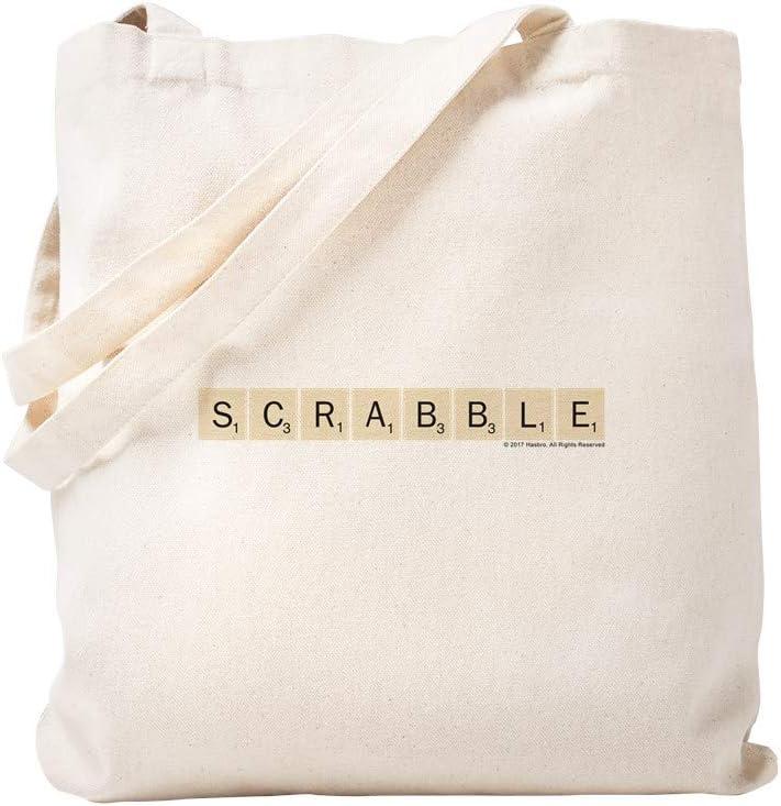 CafePress Scrabble Tiles Bolsa, lona, caqui, Small: Amazon.es: Hogar