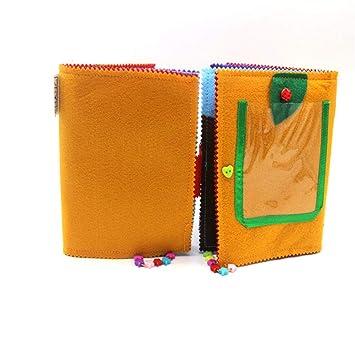 Amazon.com: Cuaderno de paños Cetula para bebé, no tóxico ...