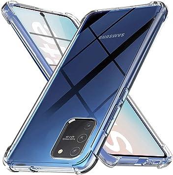 Ferilinso Funda para Samsung Galaxy S10 Lite Carcasa,[Reforzar la versión con Cuatro Esquinas][Funda Protectora de la cámara] Funda Protectora de Silicona de Piel TPU (Transparente): Amazon.es: Electrónica