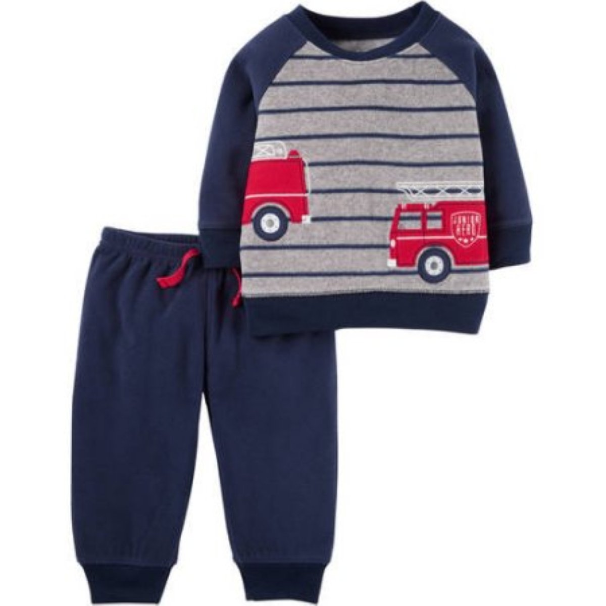 Amazon.com: Child of Mine by Carters Boys Sweater and Pant 2 Piece Set: Clothing