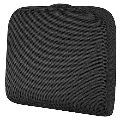 - Seat Cushion for Office Chair, Wheelchair Seat Cushion Pad Memory Foam Extra Large Thick for Truck Drivers Relieving Back Tailbone Pain by Shinnwa