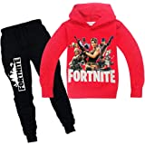 fortnite Sports suit 2 pieces set Tracksuits Hoodie+Pant For Boys