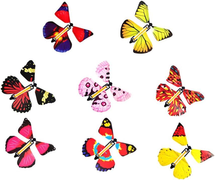 Toyvian - 12 Mariposas mágicas Que volan en el Libro, Gran