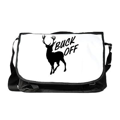 Royal Lion Laptop Notebook Messenger Bag Buck Off Deer Hunter Hunting
