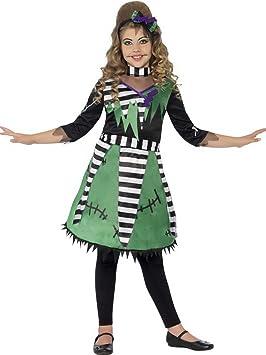 erdbeerclown – Niña Infantil Disfraz Doctor Frankenstein Vestido ...