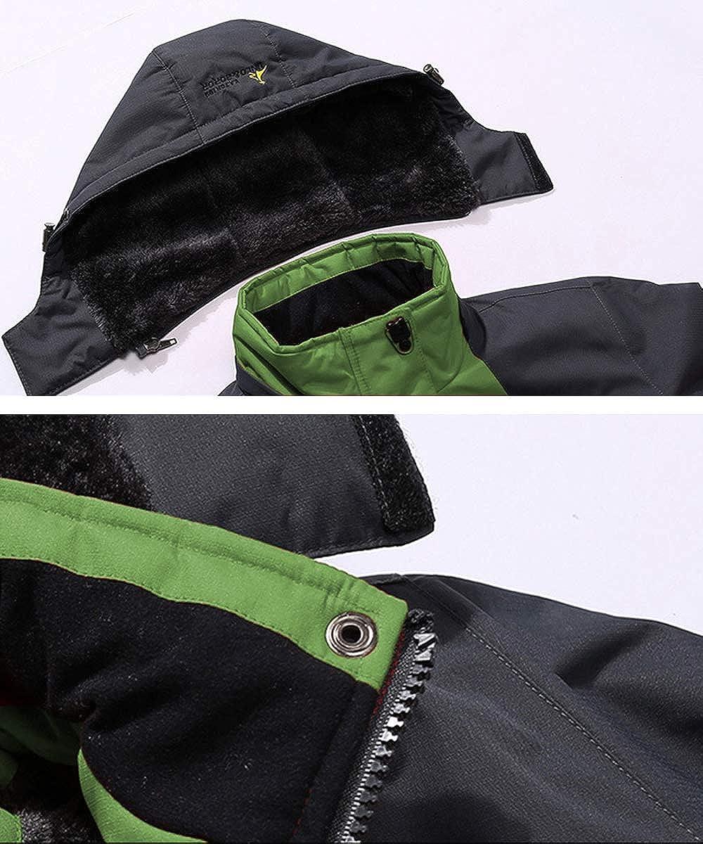 YSENTO Veste en micro polaire pour homme avec fermeture /éclair int/égrale