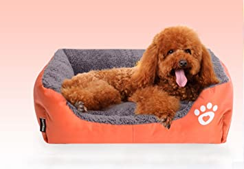 E. Vida Mascota Perro Gato Cama Cachorro Cojín Casa Sofá Pet beding suave y cálida
