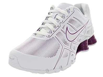 online store 6155d c5f8c ... real nike womens shox turbo xii sl wmns running shoes 6 white white  bold e271a 2fe11