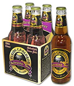 Flying Cauldron Butterscotch Beer - (12 Pack)