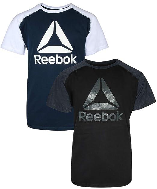 a4d4acd25ef1 Amazon.com  Reebok Boys Performance Quick Dry Athletic Sports T ...