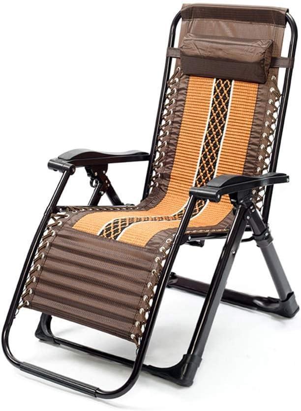 NBVCX Piezas mecánicas Tumbona Plegable reclinable Textiline Tumbonas de jardín Silla reclinable Ajuste de 160 Grados para la Vida al Aire Libre Jardín Conservatorio Patio