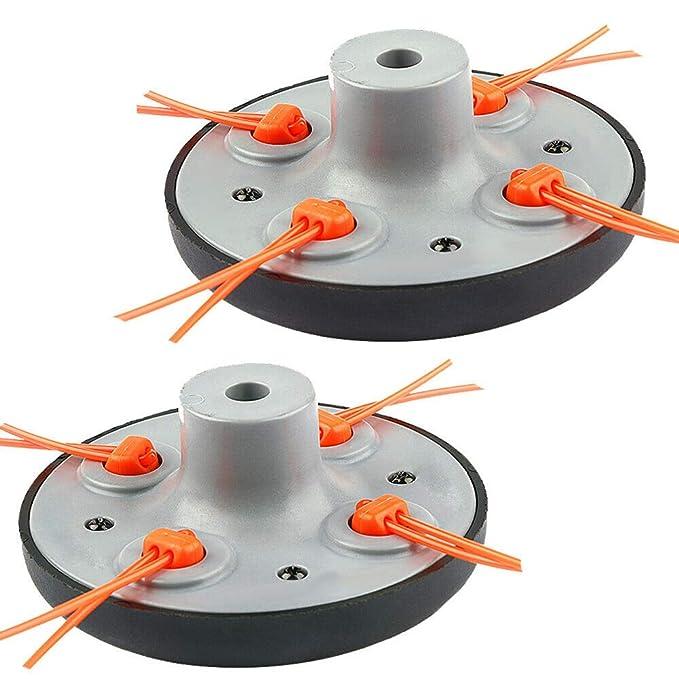 pittospwer - Cabezal Universal para desbrozadora de Gas (2 ...